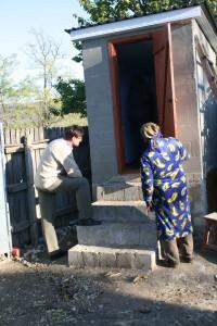 new UDD toilet
